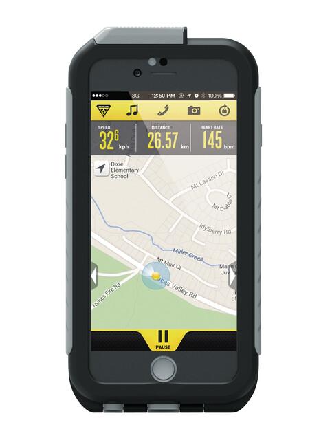 Topeak Weatherproof RideCase - pour iPhone 6, sans fixation gris/noir